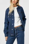 Denim Jacket 3318 Dark Indigo 1